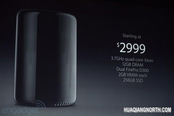 全新Mac Pro上市时间公布:2999美元起
