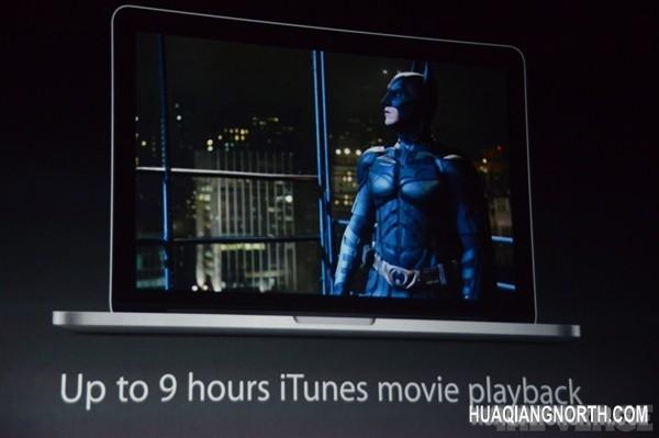 苹果刷新Macbook Pro系列:配上Haswell